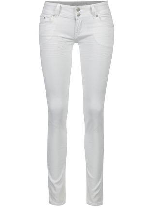 Bílé skinny džíny s nízkým pasem Haily´s Kitty