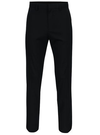 Pantaloni bleumarin slim fit de costum -  Burton Menswear London