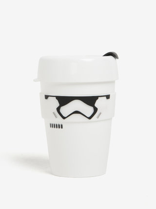 Cana alba de calatorie cu tematica Star Wars KeepCup Stormtrooper Original Medium