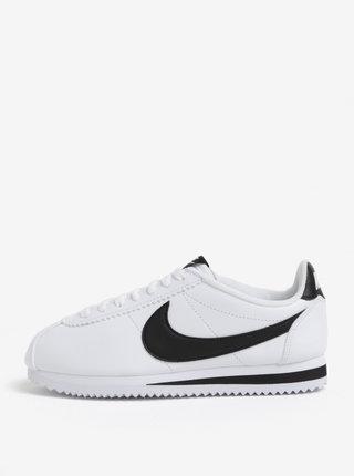 Pantofi sport albi pentru femei - Nike Classic Cortez