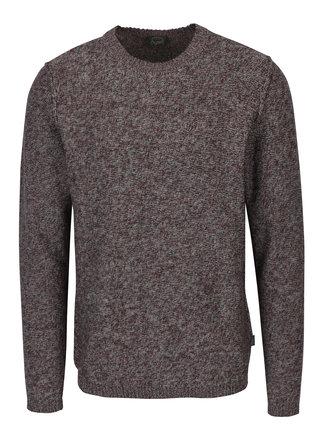 Pulover tricotat bordo - Jack & Jones Originals Uber