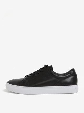 Pantofi sport negru & alb din piele - Vagabond Paul