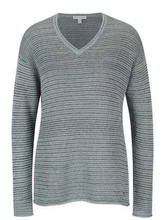 Svetlomodrý melírovaný sveter Gina Laura
