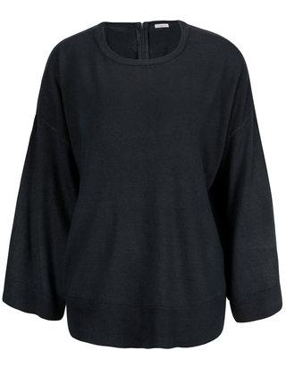 Tmavomodrý sveter Jacqueline de Yong Pace