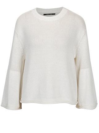 Krémový voľný crop sveter ONLY Sana