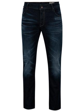 Blugi bleumarin cu aspect prespalat pentru barbati - Garcia Jeans Russo