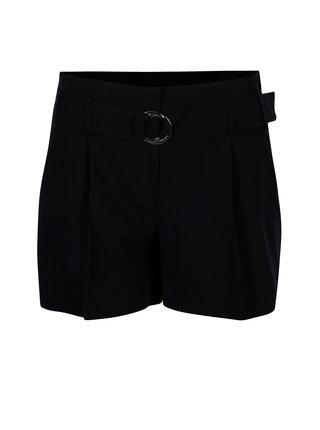 Pantaloni scurti bleumarin cu talie elastica - Dorothy Perkins