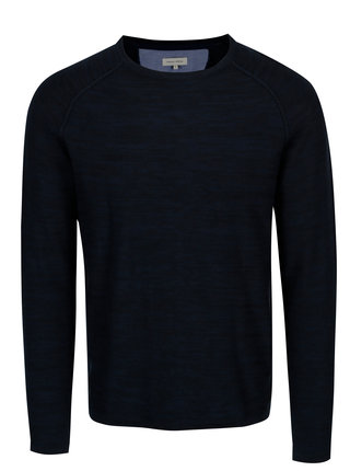 Pulover usor bleumarin - Casual Friday by Blend