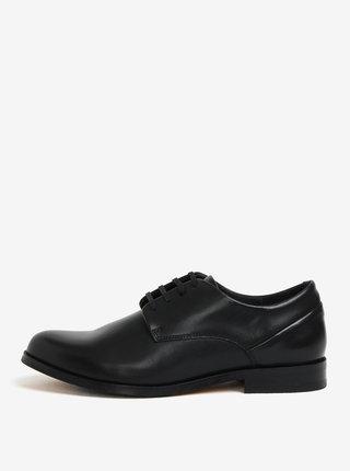 Čierne dámske kožené poltopánky Royal RepubliQ