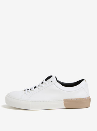 Béžovo-bílé dámské kožené tenisky Royal RepubliQ