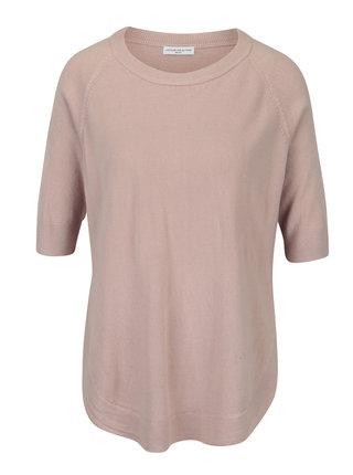 Ružový voľný sveter Jacqueline de Yong Limbo