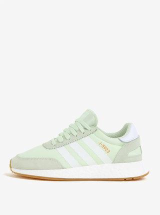 Pantofi sport verzi de alergat pentru femei - adidas Originals Iniki Runner