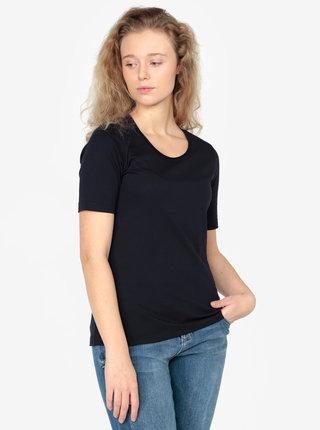 Tricou basic bleumarin pentru femei - s.Oliver
