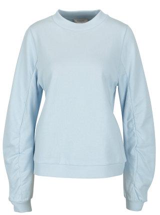 Bluza albastru deschis cu maneci balon - Selected Femme Puc