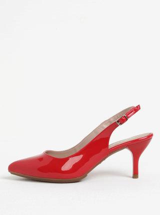Pantofi rosii luciosi OJJU