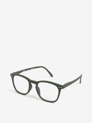 Khaki ochranné brýle k PC IZIPIZI #E