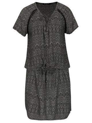 Rochie neagra cu print geometric Rip Curl