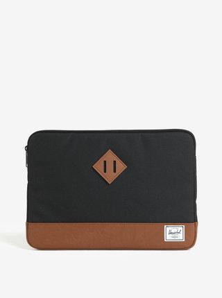"""Husa negru&maro pentru laptop de 13"""" - Herschel Supply Heritage"""