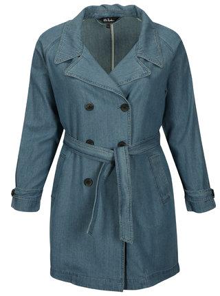 Modrý džínový kabát Ulla Popken
