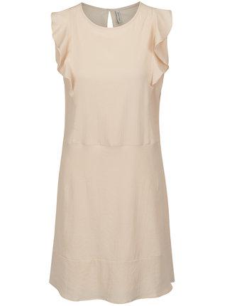 Svetloružové šaty s volánmi Blendshe Sury