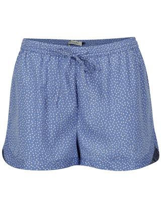 Modré kraťasy s drobným vzorom Blendshe Mally