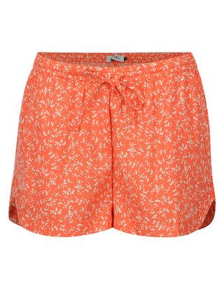 Oranžové kraťasy s drobným vzorom Blendshe Mally