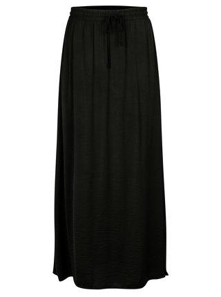 Černá maxi sukně VILA Cava