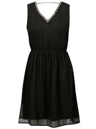 Čierne šaty VERO MODA Liandra