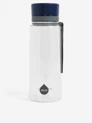 Plastová láhev s tmavě modrým uzávěrem EQUA (600 ml)