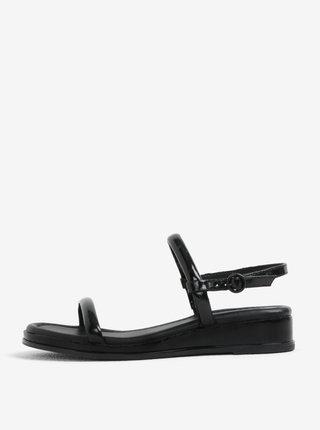 Čierne sandále DKNY