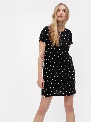 Čierne bodkované šaty ONLY First
