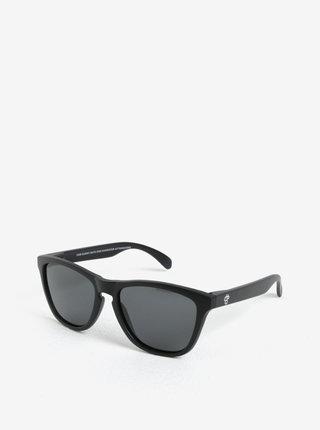 Čierne unisex slnečné okuliare CHPO Bodhi