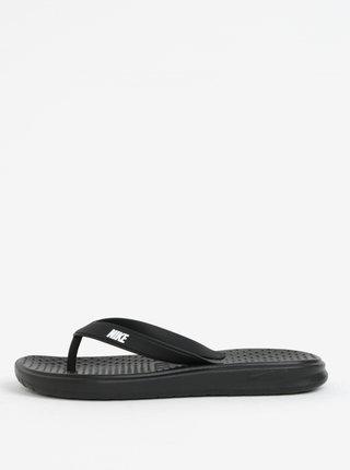 Papuci barbatesti flip-flop negri Nike Solay Thong