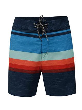 Pantaloni scurti de baie albastru inchis in dungi Rip Curl