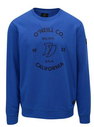 Bluza sport barbateasca albastra cu imprimeu O'Neill Boulevard