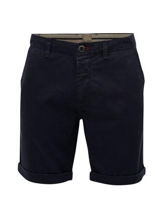 Pantaloni scurti albastru inchis chino Dstrezzed