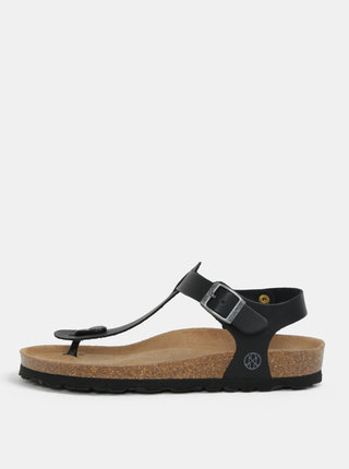 Černé sandály OJJU
