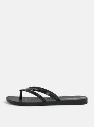 Papuci flip-flop negri Ipanema Bossa