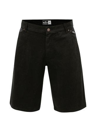Pantaloni scurti negri pentru barbati MEATFLY Bobber