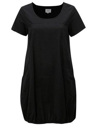 Černé šaty s kapsami Zizzi