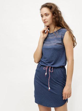 Rochie albastru inchis cu model Ragwear Valencia