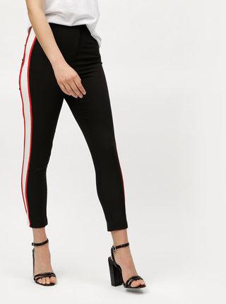 Pantaloni negri slim cu talie inalta MISSGUIDED