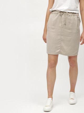 Béžová sukně se zavazováním s.Oliver
