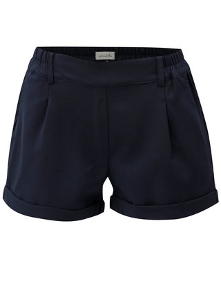 Pantaloni scurti albastru inchis Blendshe Jade