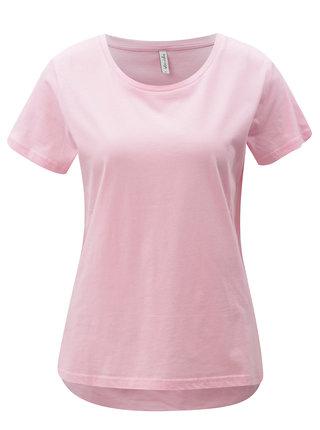 Ružové basic tričko Blendshe Jodie