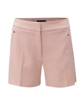 Pantaloni scurti roz deschis cu detalii argintii Dorothy Perkins