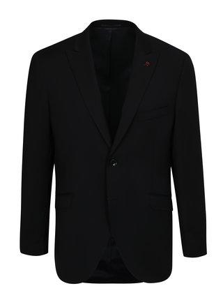 Sacou formal albastru-negru din lana Good Son