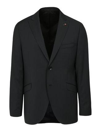 Sacou formal gri inchis din lana Good Son