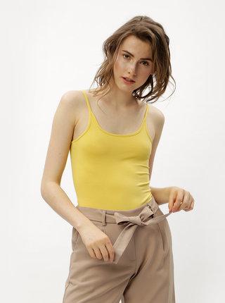 Body galben cu bretele Jacqueline de Yong Ava