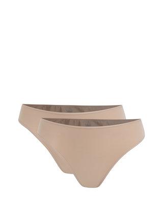 Sada dvou kalhotek v tělové barvě Bellinda